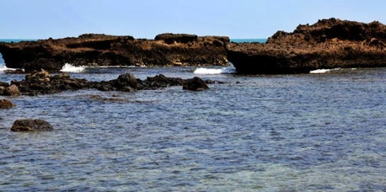 Pantai Guci Batu Kapal Lampung Selatan