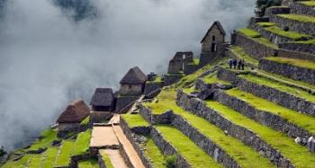 Hamparan Sawah di Machu Picchu