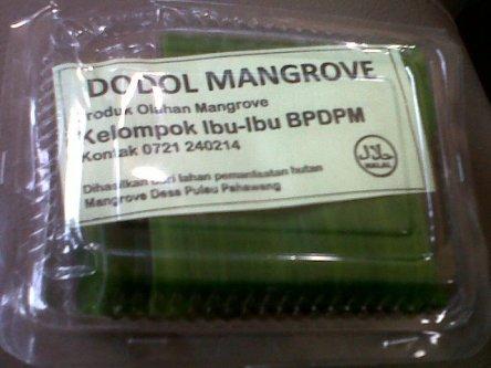 Dodol Mangrove, khas Pahawang