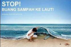 Jangan Buang Sampah ke Laut Pahawang
