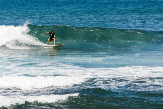 surfing tanjung setia south sumatra blog wisata indonesia
