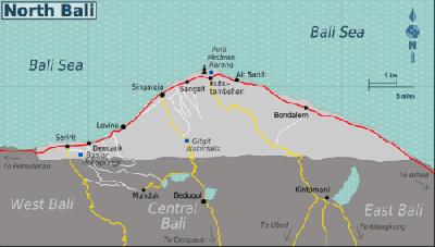 Tempat Wisata Menawan di Bali Utara