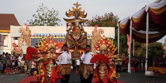 Festival Krakatau, Tarian