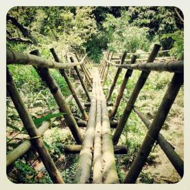 Jembatan Taman Kupu Gita Persada