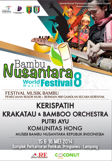 Festival Bambu Nusantara 2014