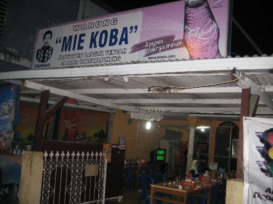 Mie Koba Iskandar, Pangkal Pinang