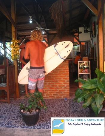 Tanjung Setia salah satu Tempat Wisata di Lampung