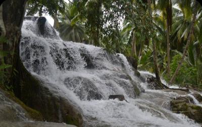 Tempat Wisata Menawan Sumatera Utara Air Terjun Aek Sijornih