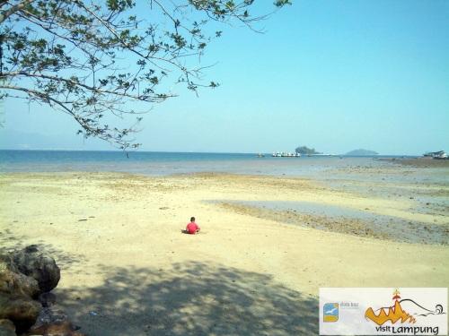 Spot untuk Berenang, 300m dari Paviliun Pantai Duta Wisata