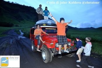 Ceria di Jalur Kaldera