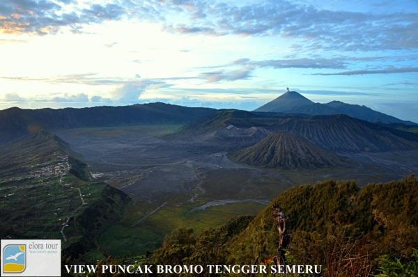 Puncak Gunung Batok Bromo Tengger Semeru