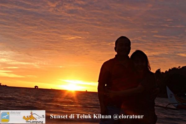Sunset di Teluk Kiluan - eloratour