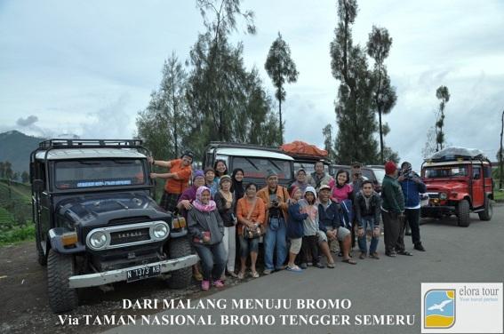 Tour Jeep Malang - Bromo via Tumpang