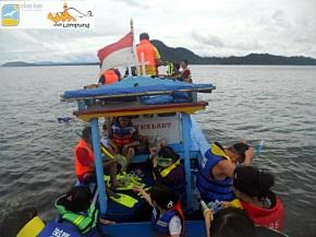 Menuju Spot Pulau Kelagian