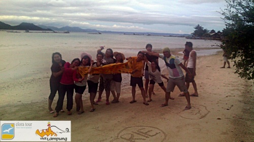 Sesi Foto di Camp Pahawang