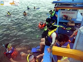 Snorkel di Spot Kelagian