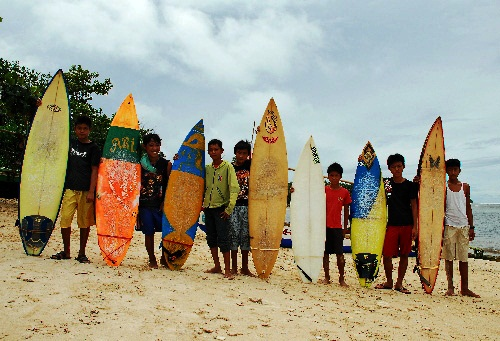Surfer Cilik Tanjung Setia