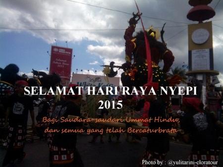 Selamat Hari Raya Nyepi 2015