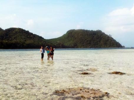 Panorama Pulau Kelagian Lunik