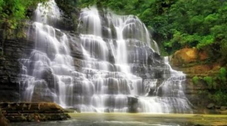 Air Terjun Sembilan Tingkat Bengkulu eloratour