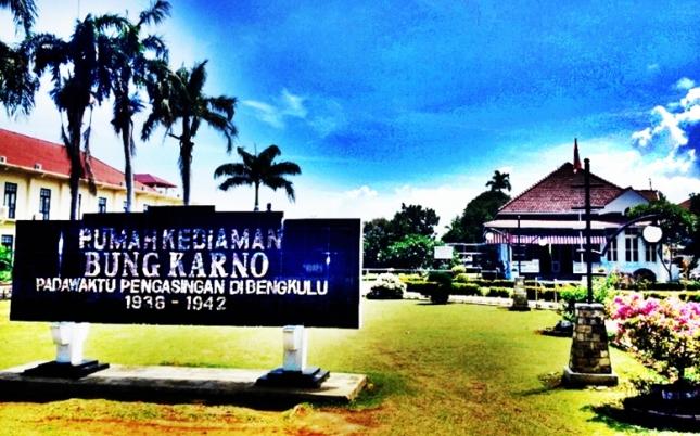 Rumah Pengasingan Bung Karno di Bengkulu eloratour