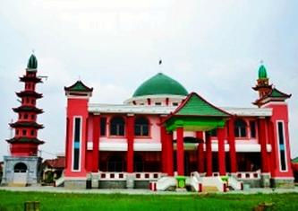 Masjid Cheng Hoo Sumatera Selatan eloratour