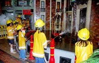 Kidzania Profesi pemadam kebakaran eloratour