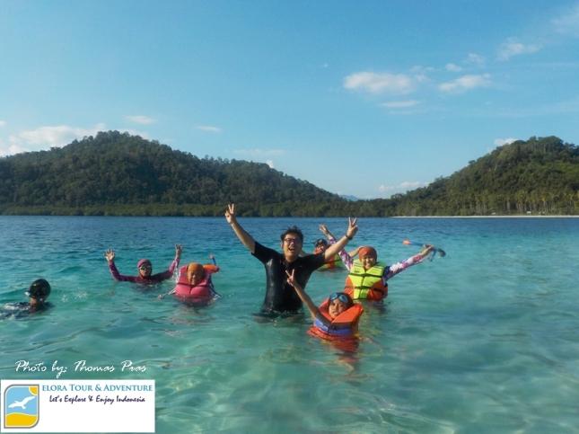 Panorama Pulau Kelagian Lunik ELORA TOUR & ADVENTURE