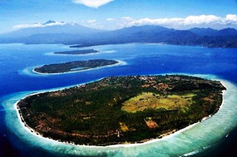 Pulau Gili-gili lombok nusa tenggara barat