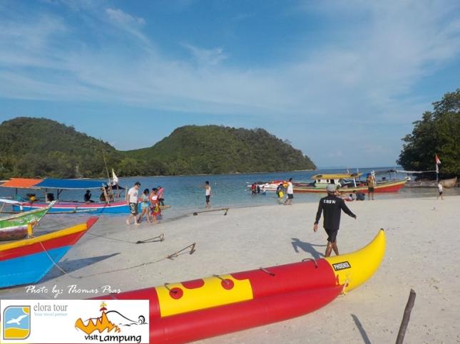 Wisata Pulau di Kelagian Lunik eloratour