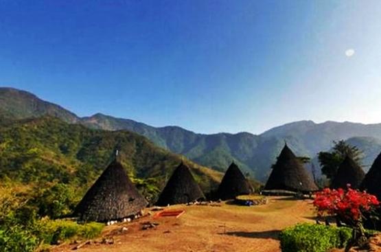 Desa Wae Rebo, Ruteng, tempat wisata di nusa tenggara timur
