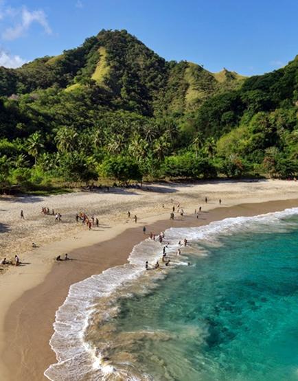 Pantai Koka, Flores, nusa tenggara timur