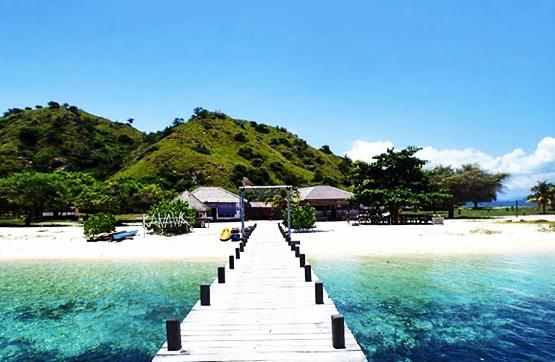 Pulau Kanawa Flores nusa tenggara timur