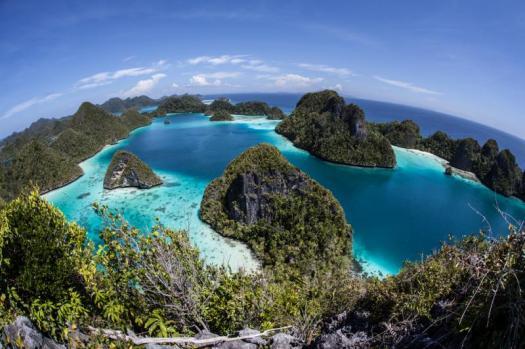 raja ampat tempat wisata di papua barat indonesia