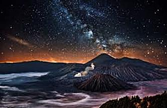 Taburan Bintang di Langit Bromo eloratour