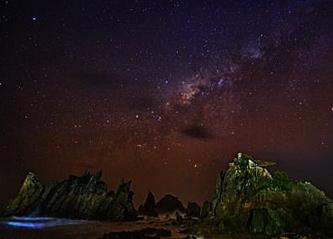Taburan Bintang di Langit Kelumbayan eloratour