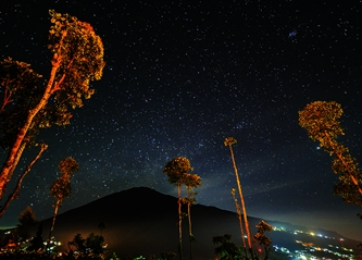 Taburan Bintang di Langit Merapi eloratour