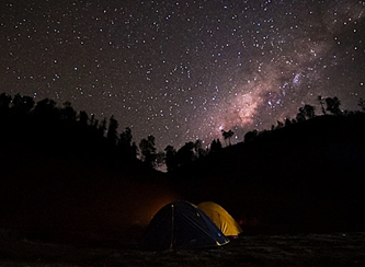 Taburan Bintang di Langit Ranu Kumbolo eloratour