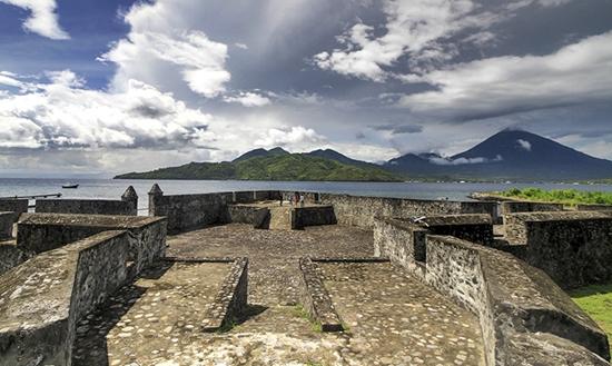 Benteng Kalamata di Maluku Utara