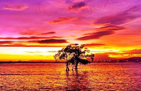 Pantai Sebalang Lampung Selatan yang Menawan