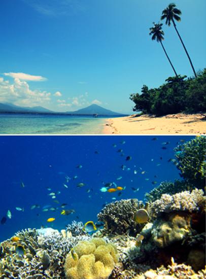 Tempat Wisata di Kabupaten Halmahera Utara Provinsi Maluku Utara