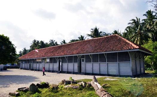 Sekolah Dasar buatan Belanda di Pulau Pisang