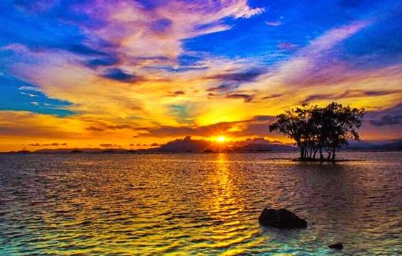 Sunset Pantai Sebalang yang Menawan