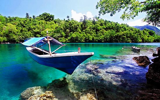 Teluk Saomadaha di Ternate Maluku Utara