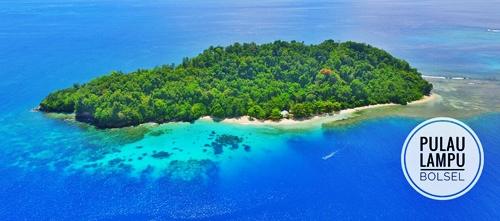 pulau lompu tempat wisata menawan di sulawesi utara