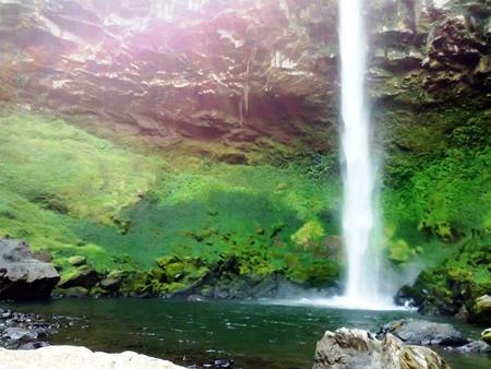 air terjun putri malu blog wisata indonesia