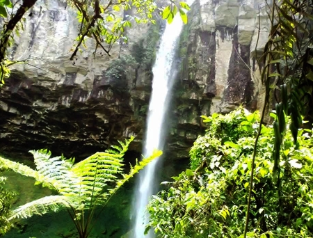 air terjun putri malu way kanan lampung - blog wisata indonesia