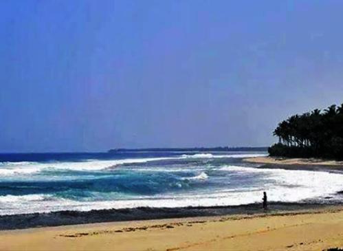 pantai melasti pesisir barat lampung yang menawan
