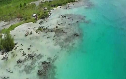 fakta unik pantai tureloto, laut matinya indonesia di nias utara