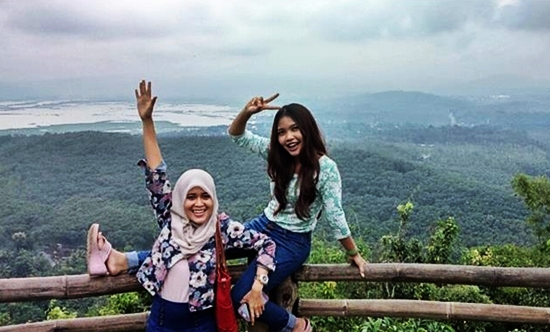 goa rong spot selfie hits di kabupaten semarang
